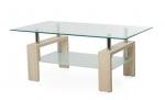 Журнальний стіл C-107-2 білий дуб Журнальный стол